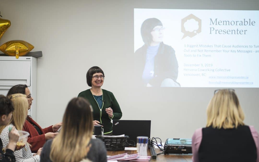 Blog Memorable Presenter Brenda Benham